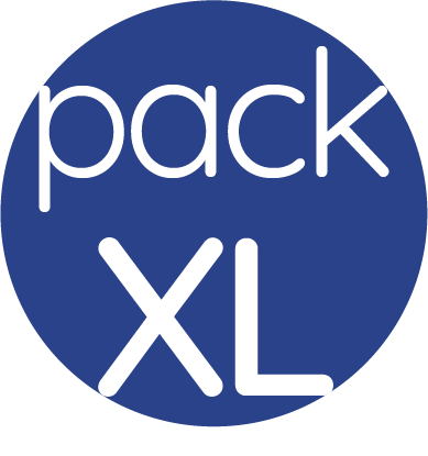 pack video avec tournage (Ile de France) - logo Pack taille XL fond bleu | enviedeprod, agence de production motion video